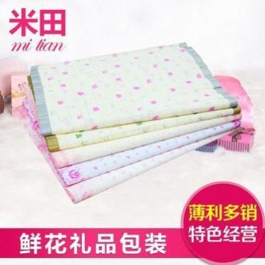 厂家直销 小花荷边瓦愣纸 印花包装纸 新款bob官网包装纸